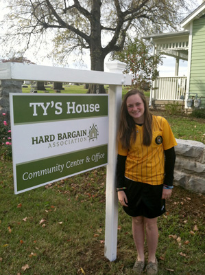 Hard Bargin Center renamed Ty's House